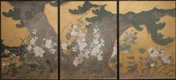 松に黄蜀葵図.jpg