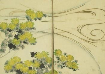 流水に菊.jpg