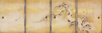 雪中梅竹図襖.jpg